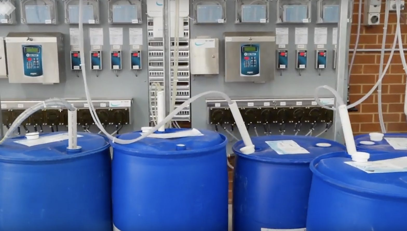 Chempower chemical dispensing system